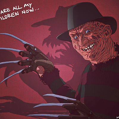 Freddy Illustration Final Color