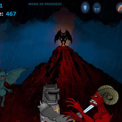 Paladin in Hell Flash Game Thumbnail