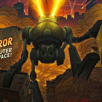 Intergalactic Doom Illustration Final Color