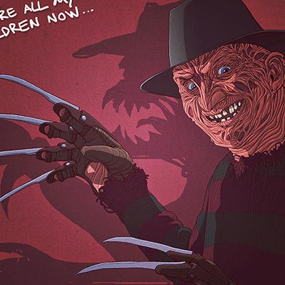 Freddy Illustration Final Color