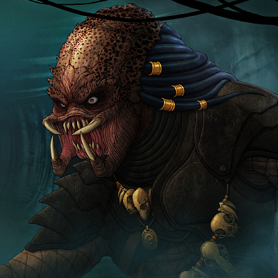 Predator Illustration Final Color