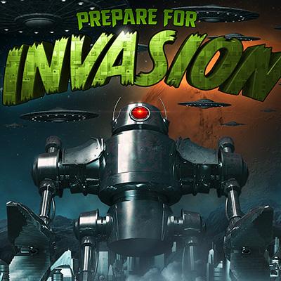 Prepare For Invasion 3D Illustration Final